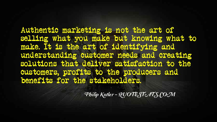 Quotes About Satisfaction Of Customers #1064862