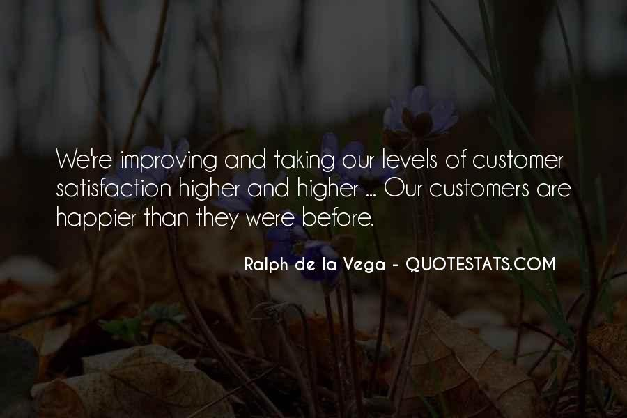 Quotes About Satisfaction Of Customers #261539