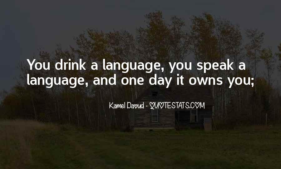 Quotes About Language Day #1710103