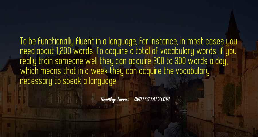 Quotes About Language Day #1757524
