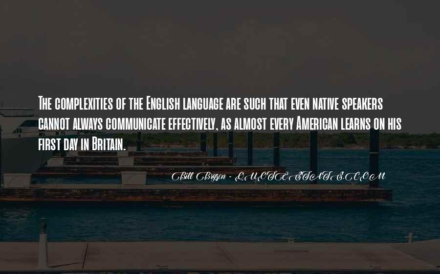 Quotes About Language Day #1837419