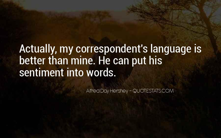 Quotes About Language Day #630227