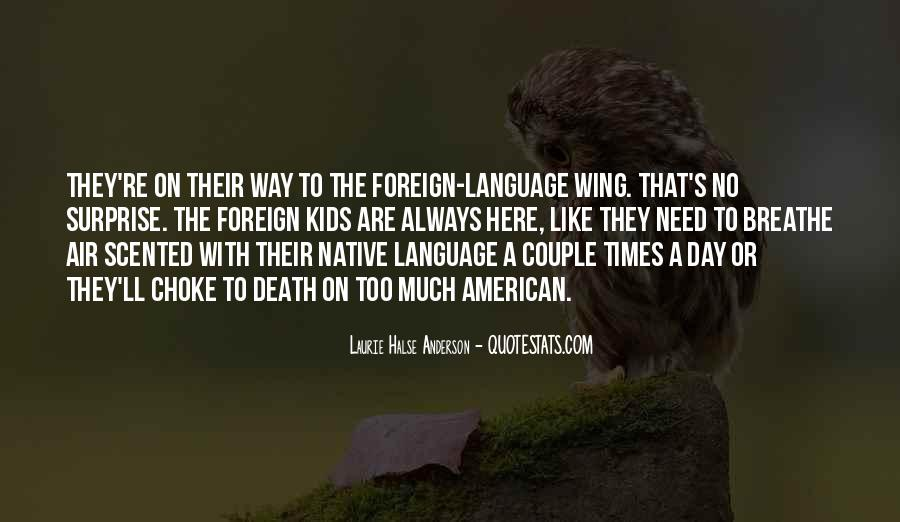 Quotes About Language Day #904075