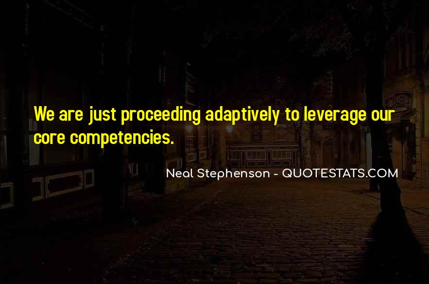 Quotes About Competencies #1199367