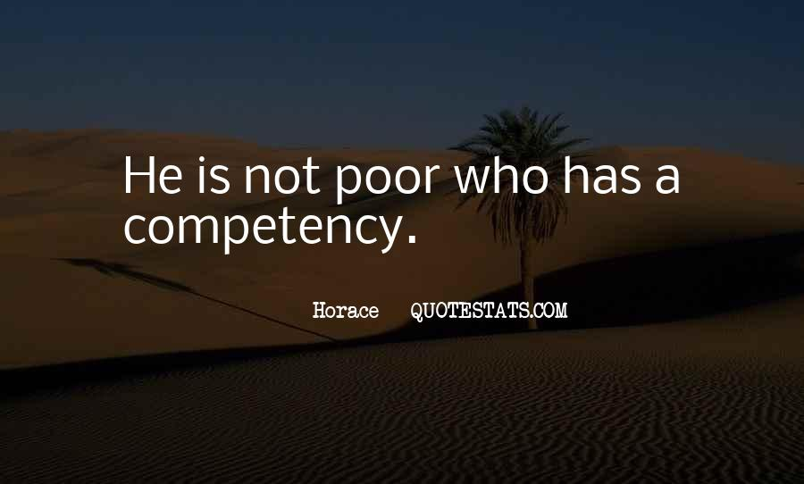 Quotes About Competencies #1480842