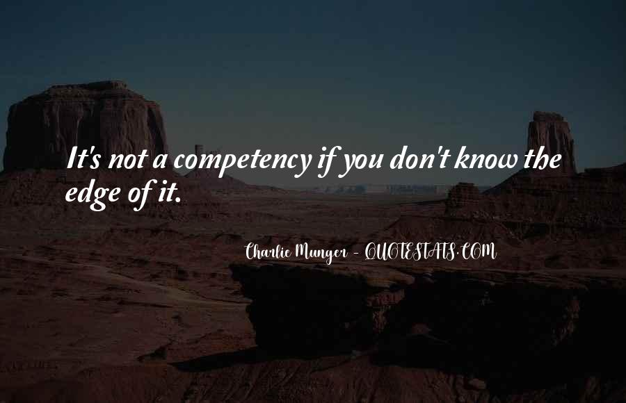 Quotes About Competencies #1608816