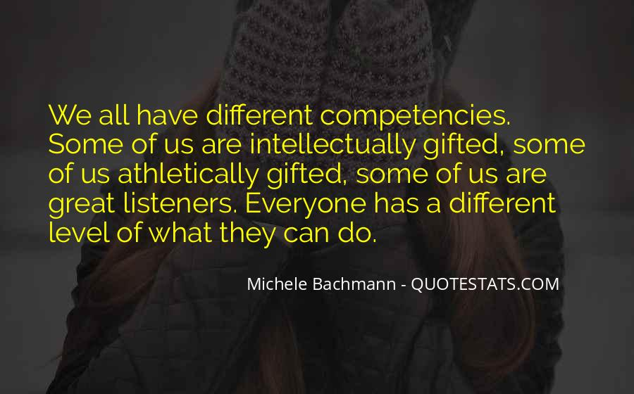 Quotes About Competencies #1618133