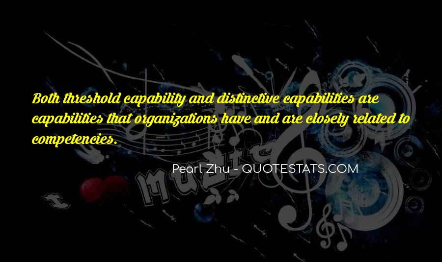 Quotes About Competencies #17237