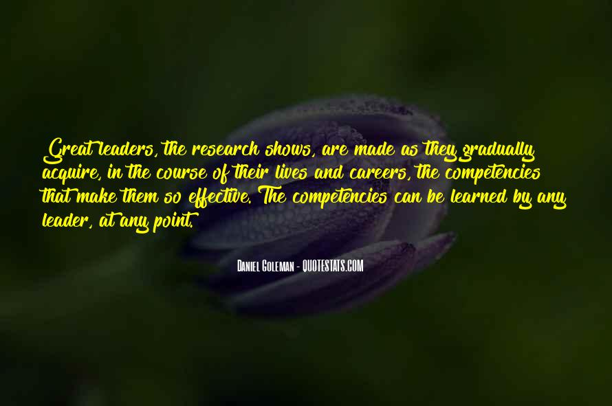 Quotes About Competencies #1785031