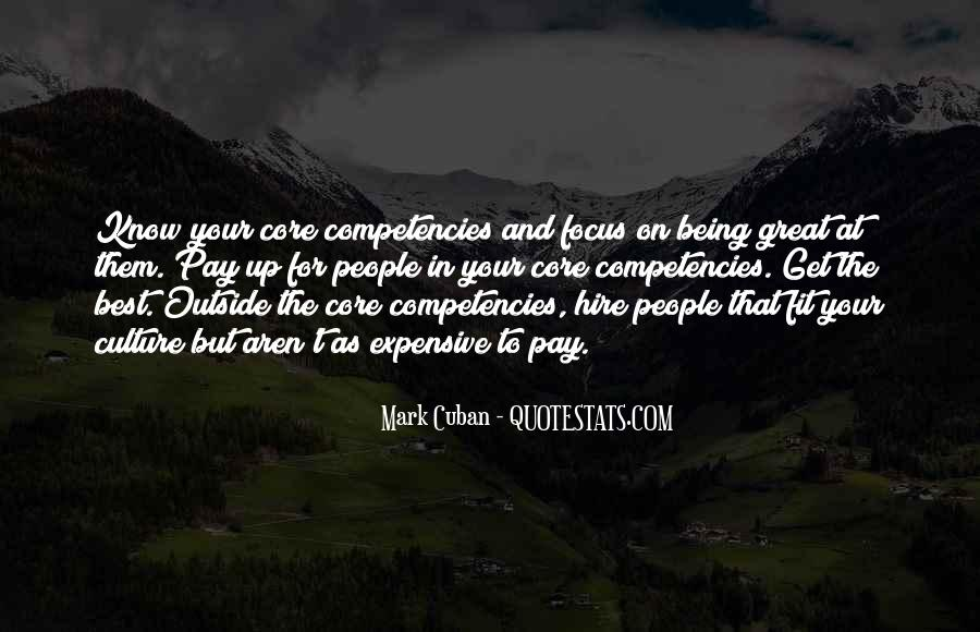 Quotes About Competencies #1852462