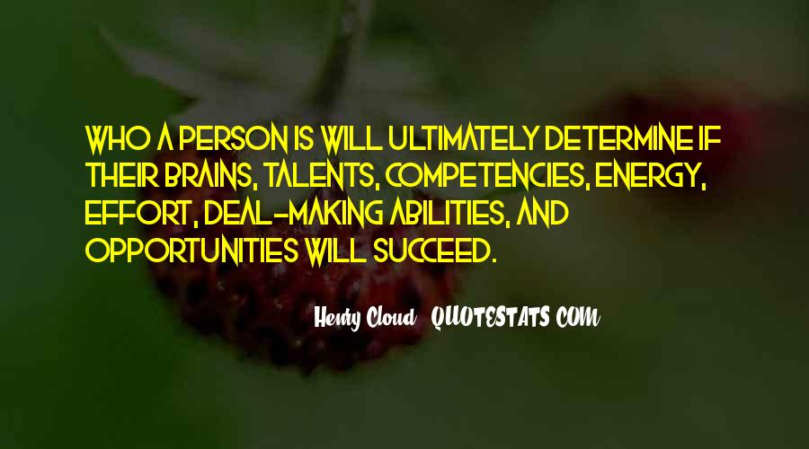 Quotes About Competencies #374217