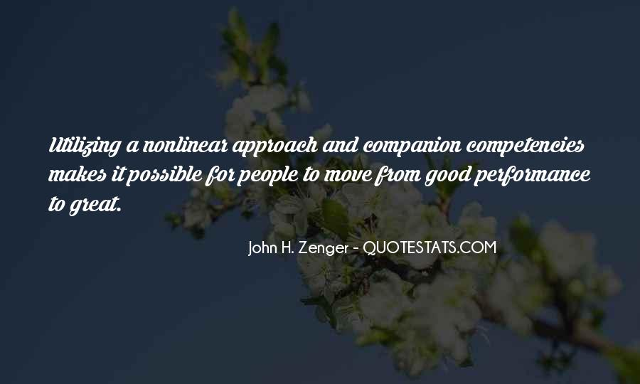 Quotes About Competencies #417822