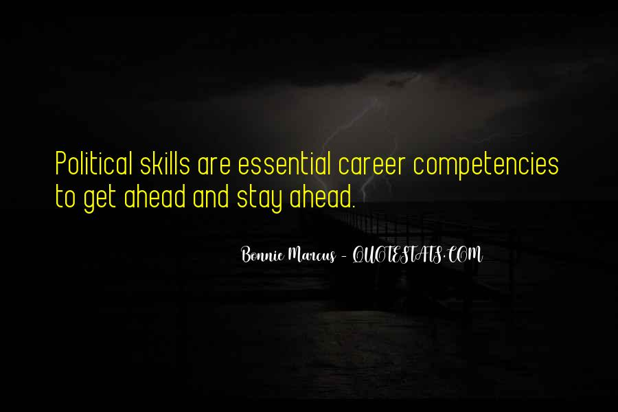 Quotes About Competencies #430219