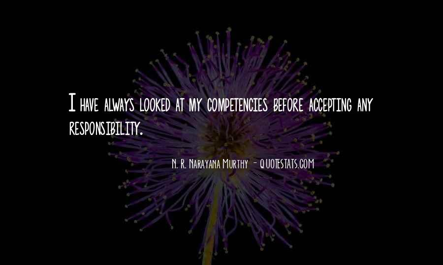 Quotes About Competencies #443190