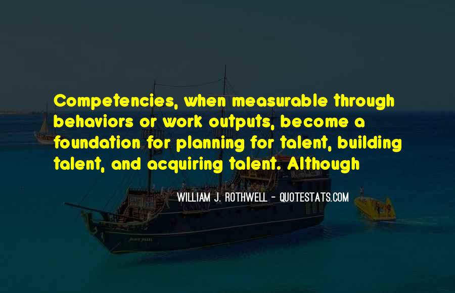 Quotes About Competencies #647941
