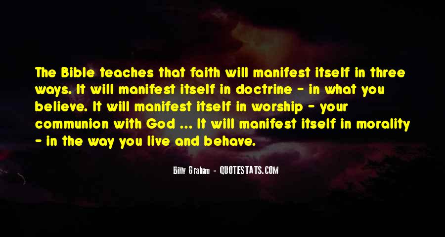 Quotes About Faith In The Bible #1107756