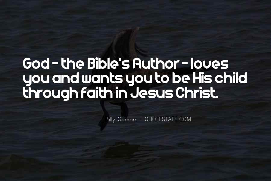 Quotes About Faith In The Bible #120593