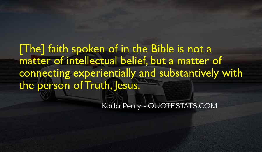 Quotes About Faith In The Bible #1230450