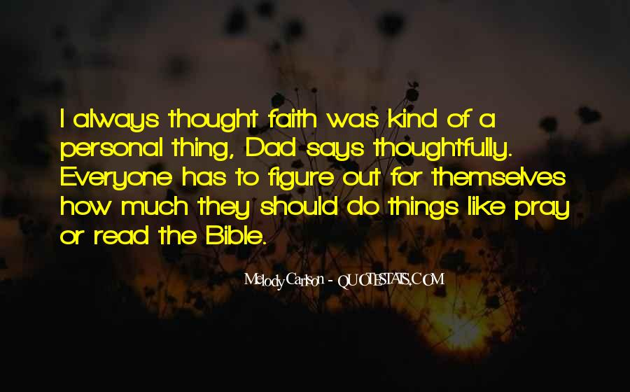 Quotes About Faith In The Bible #1276314