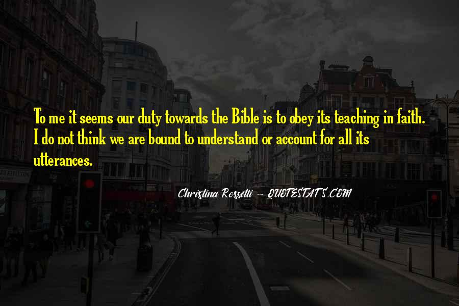 Quotes About Faith In The Bible #1313492