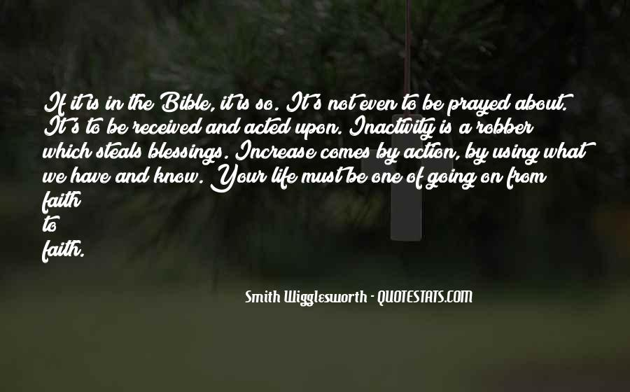 Quotes About Faith In The Bible #1321393