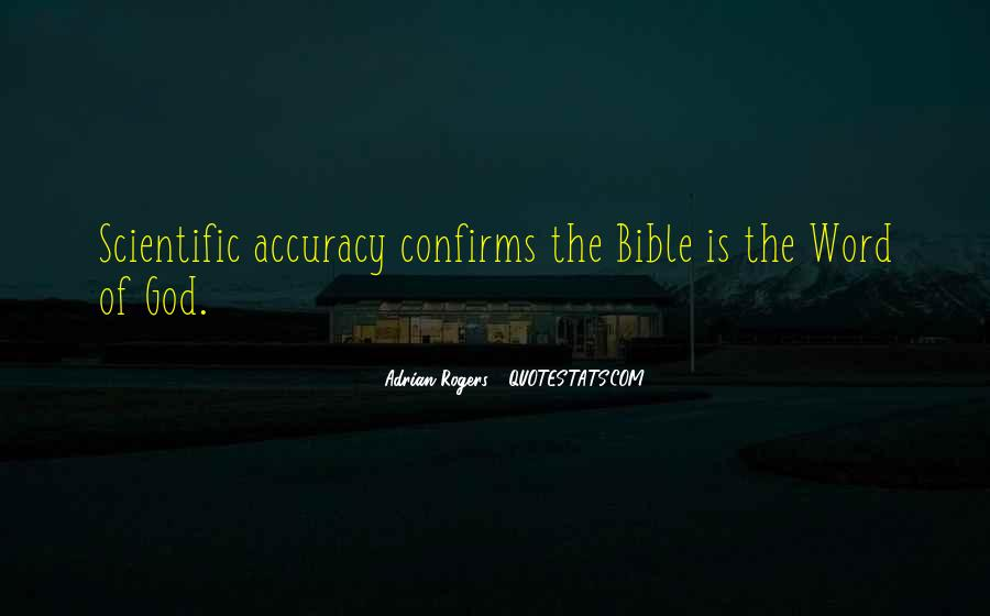 Quotes About Faith In The Bible #1350074
