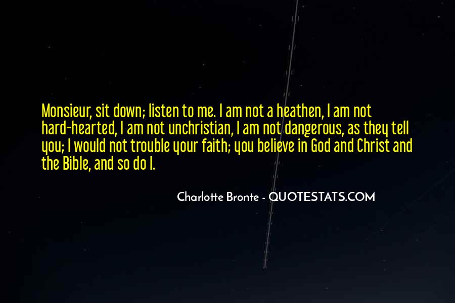 Quotes About Faith In The Bible #1420508