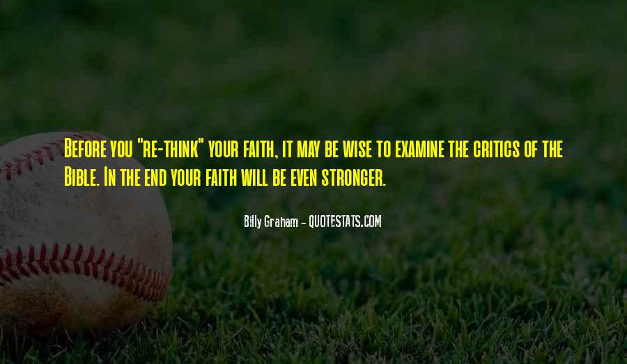 Quotes About Faith In The Bible #1437264