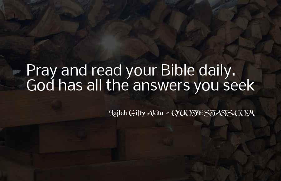 Quotes About Faith In The Bible #1439967