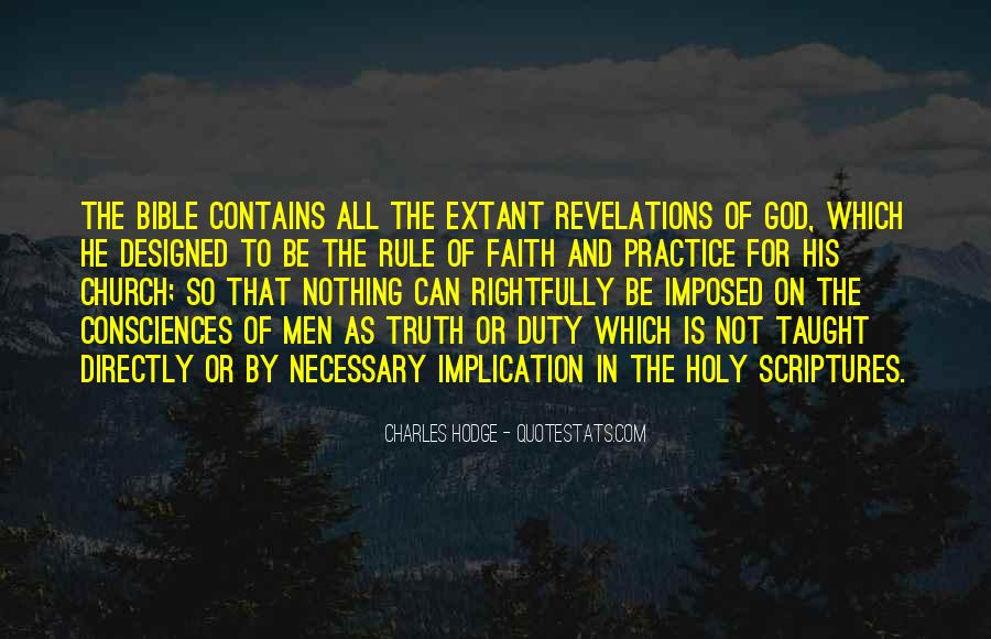 Quotes About Faith In The Bible #1545940
