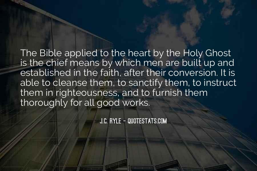 Quotes About Faith In The Bible #197421