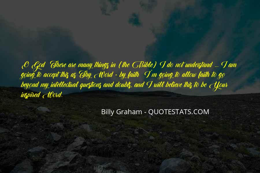 Quotes About Faith In The Bible #227512
