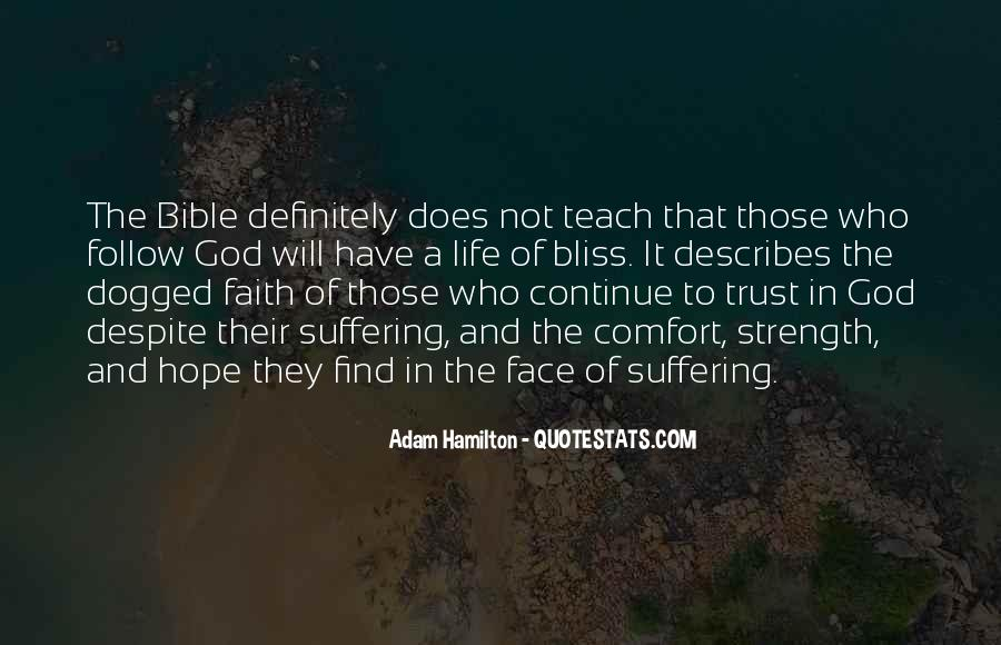 Quotes About Faith In The Bible #475087