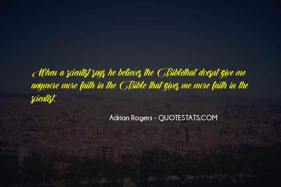 Quotes About Faith In The Bible #500632