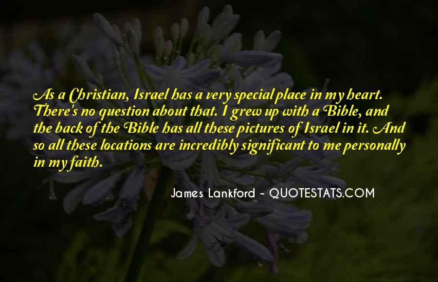 Quotes About Faith In The Bible #529796