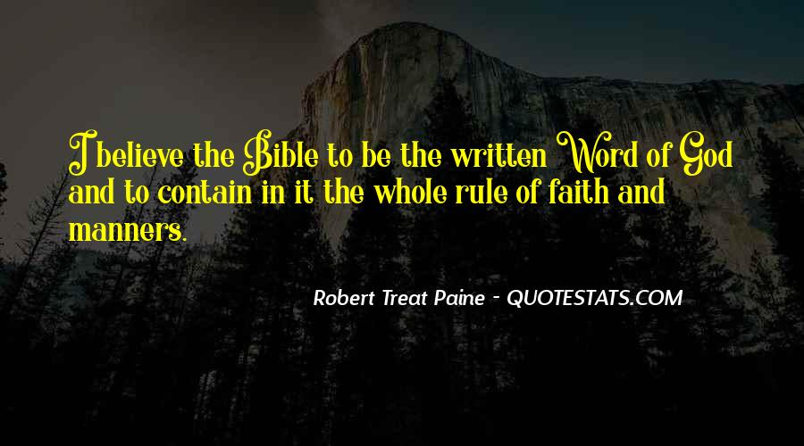 Quotes About Faith In The Bible #536682