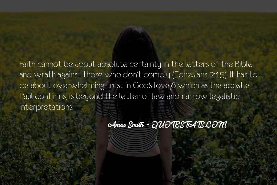Quotes About Faith In The Bible #62173