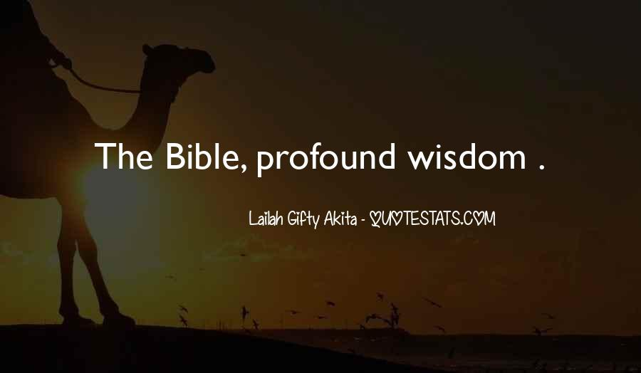 Quotes About Faith In The Bible #655573
