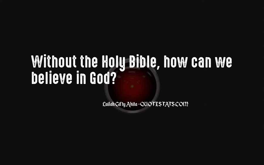 Quotes About Faith In The Bible #787877