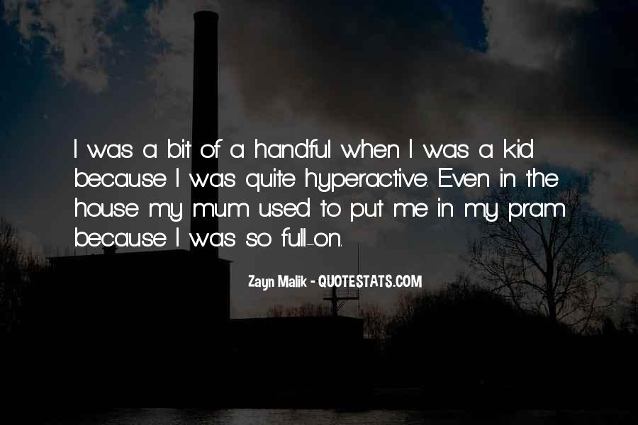 Quotes About Handful #275817