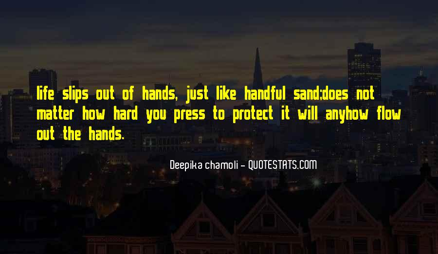 Quotes About Handful #54358