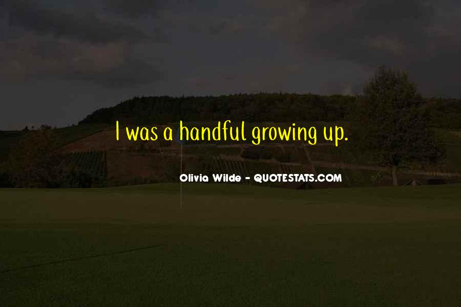 Quotes About Handful #58526