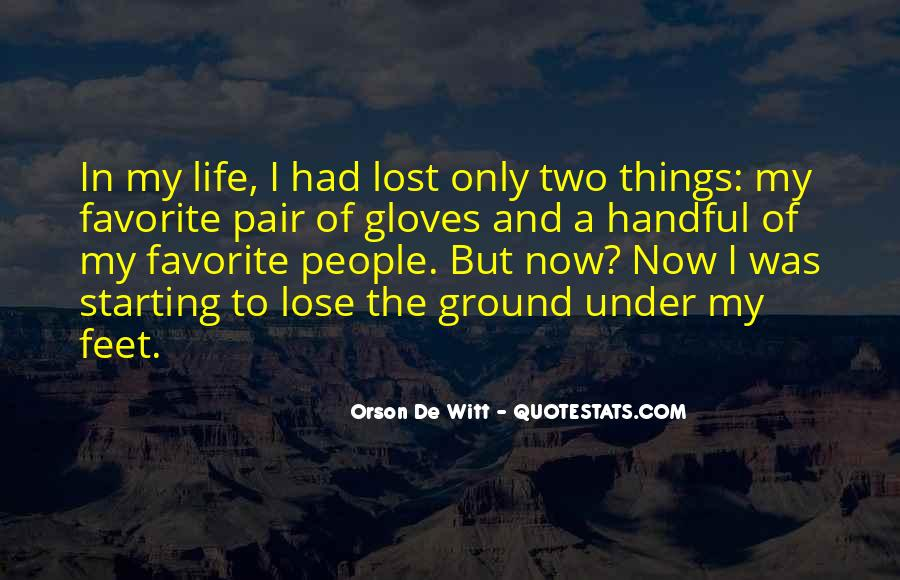 Quotes About Handful #67784