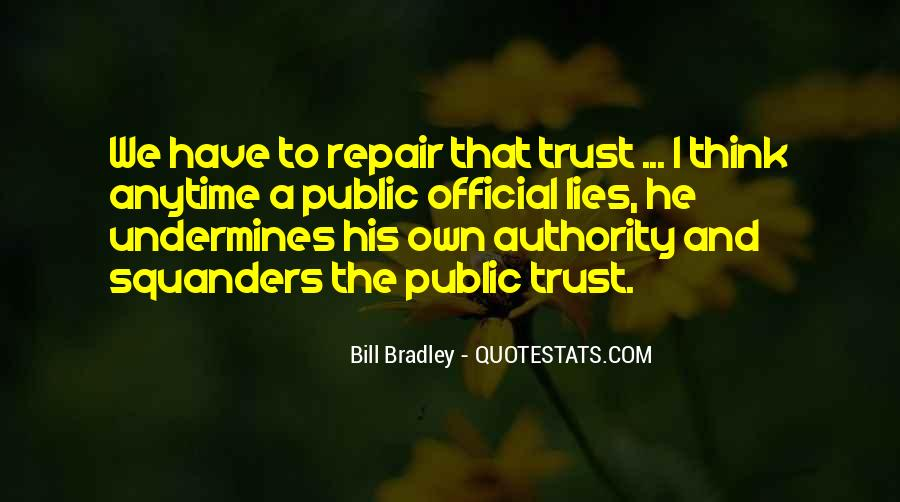 Quotes About Trust And Lying #1004856