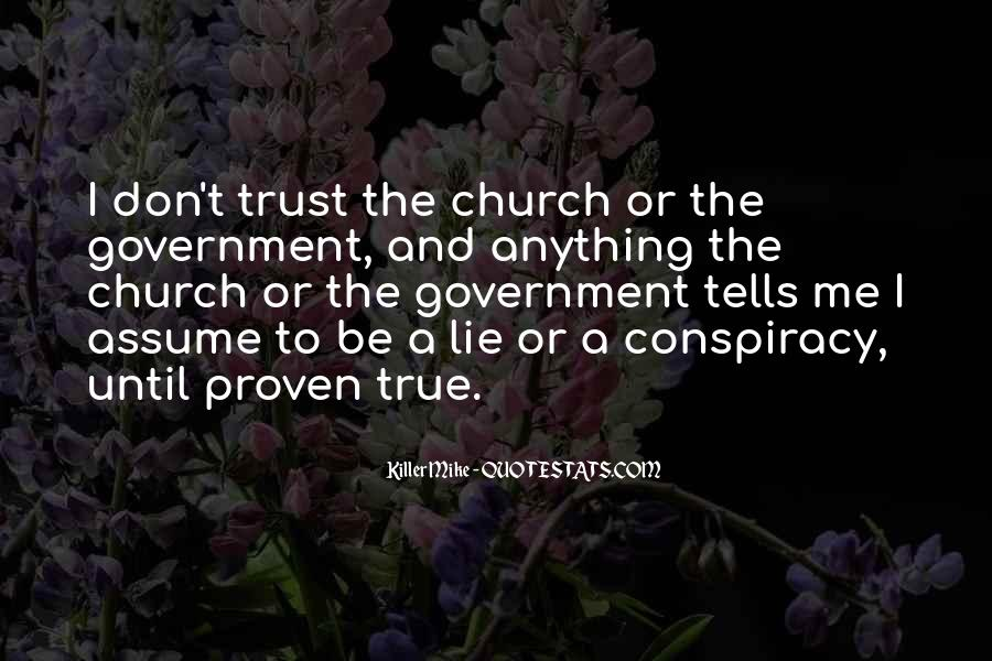 Quotes About Trust And Lying #1201251