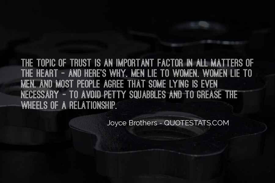 Quotes About Trust And Lying #1362697