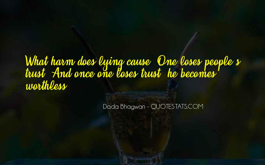 Quotes About Trust And Lying #1675494