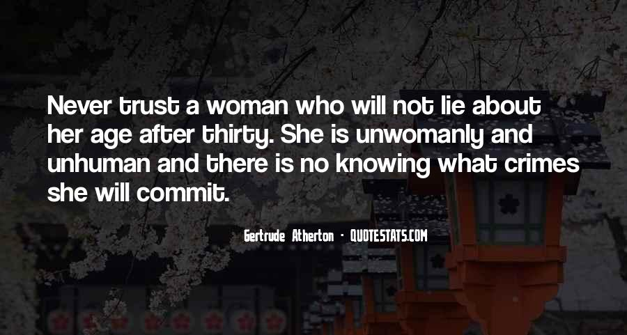 Quotes About Trust And Lying #496559