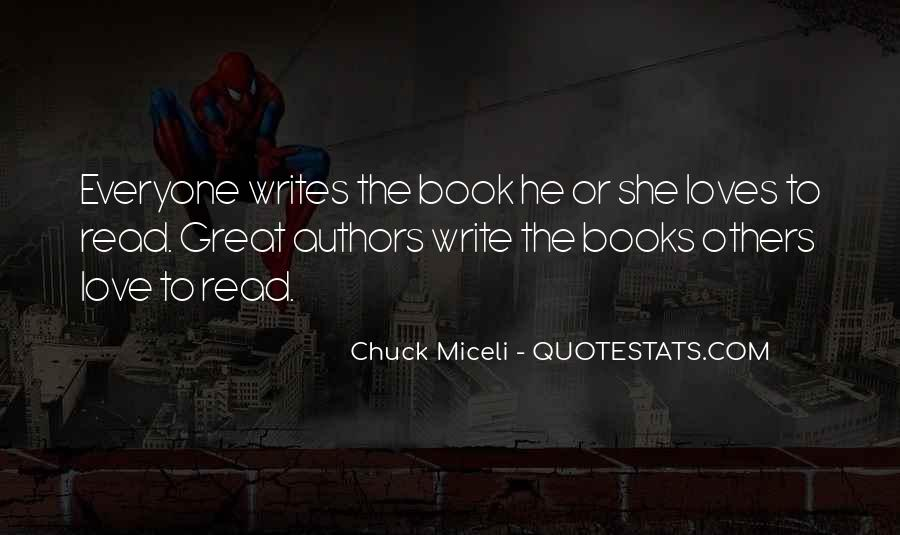 Quotes About Love Great Authors #1060894