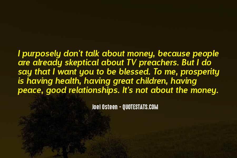 Quotes About Prosperity Preachers #48953